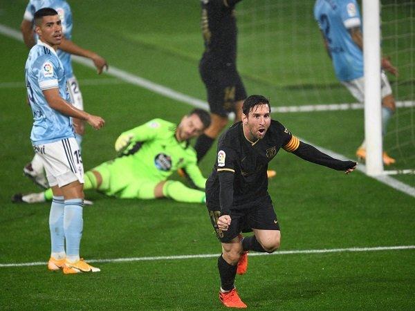 Barcelona menghadapi Celta Vigo dalam perjalanannya memburu titel La Liga.