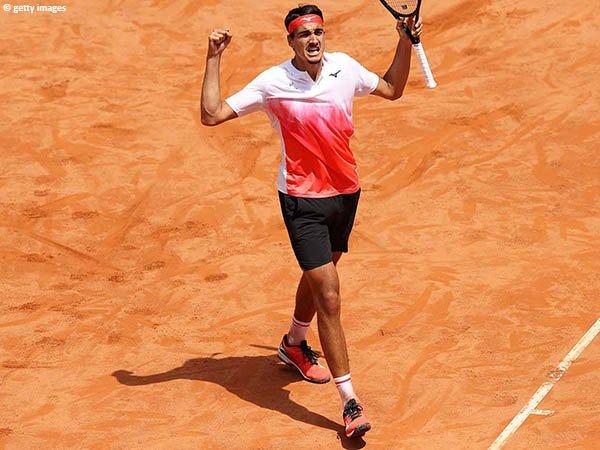 Lorenzo Sonego melaju ke semifinal Italian Open 2021