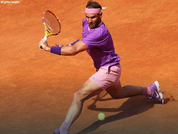 Rafael Nadal terpaut satu kemenangan lagi dengan gelar Italian Open kesepuluh dalam kariernya