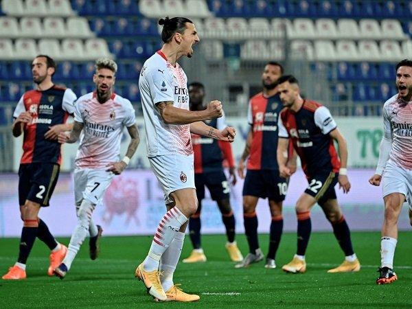 AC Milan menjamu Cagliari dalam partai berikutnya di Serie A.