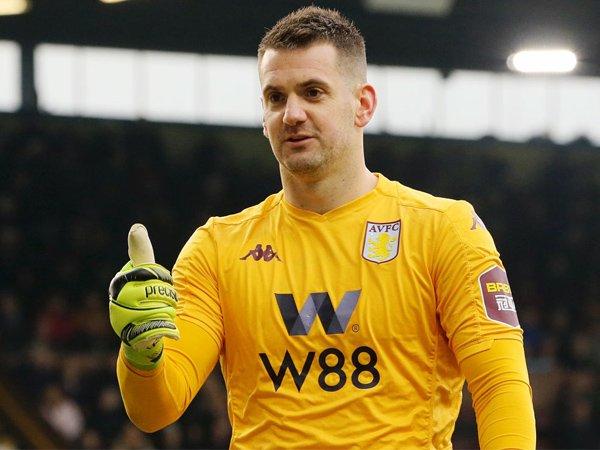 Kiper Aston Villa, Tom Heaton.