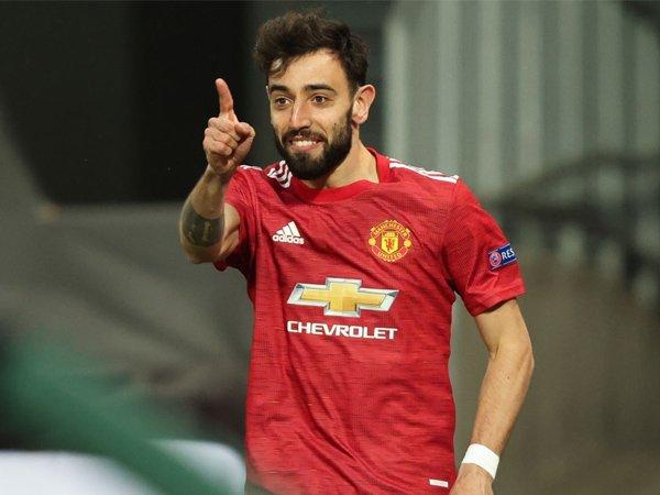Playmaker Manchester United, Bruno Fernandes.