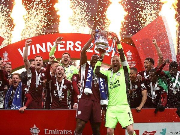 Leicester City kalahkan Chelsea di final Piala FA.