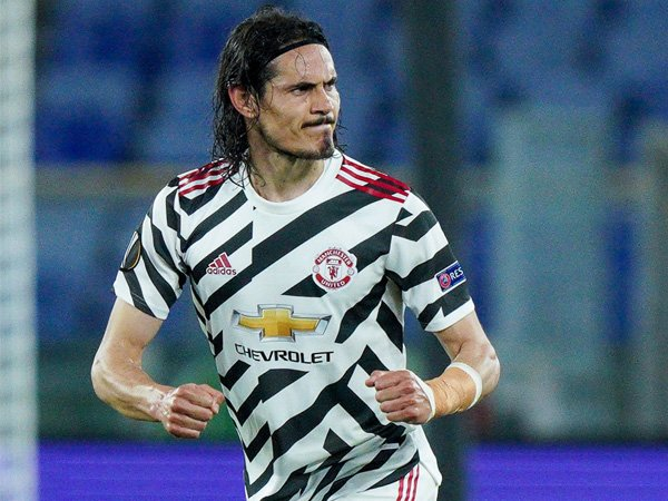 Striker Mancheter United, Edinson Cavani.