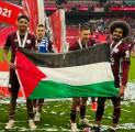 Leicester City Juara Piala FA, Dua Pemain Kibarkan Bendera Palestina
