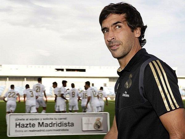 Raul Gonzalez jadi kandidat pengganti Zinedine Zidane.