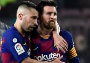 Alba Berdoa Agar Messi Tidak Menjalankan Laga Terakhirnya di Camp Nou