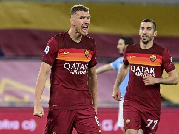 AS Roma jadwalkan pertemuan dengan agen Edin Dzeko dan Alessandro Florenzi