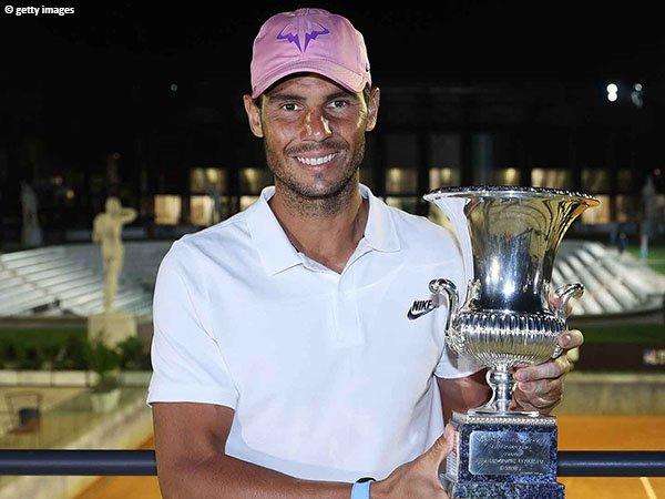 Rafael Nadal susah payah demi memenangkan final Italian Open 2021