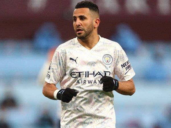 Winger Manchester City, Riyad Mahrez.
