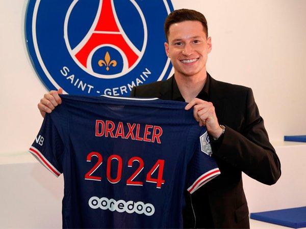 Winger Paris Saint-Germain, Julian Draxler.