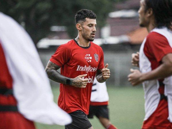 Latihan perdana Bali United usai libur lebaran