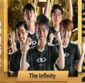 Kudeta Aura Esports dari Puncak Klasemen, The Infinity Juara PMPL SEA