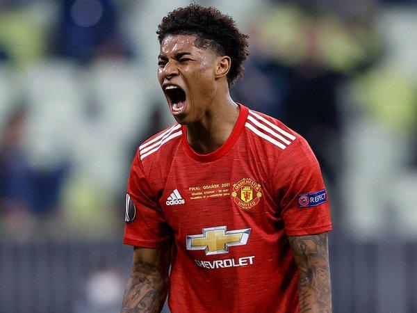 Striker Manchester United, Marcus Rashford.