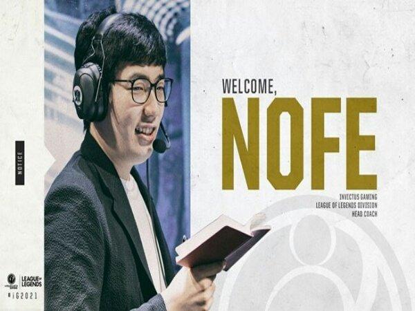 Invictus Gaming Resmi Datangkan NoFe Sebagai Pelatih Kepala Baru