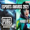 PUBG Mobile dan Free Fire Masuk Nominasi Esports Awards 2021