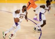 LeBron James Siap Pikul Beban Lakers Andai Anthony Davis Absen di Game 5