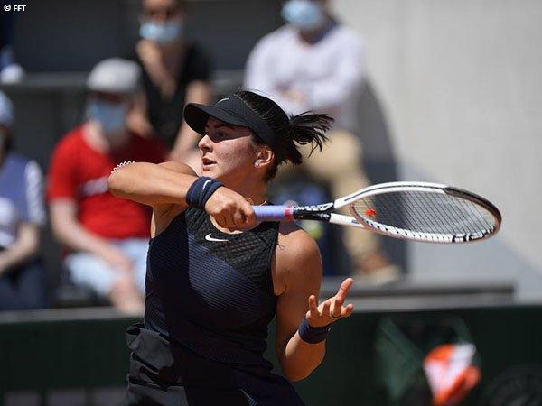 Bianca Andreescu kalah di babak pertama French Open 2021