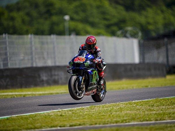 Bos Yamaha terkesan lihat performa impresif Fabio Quartararo di Mugello.