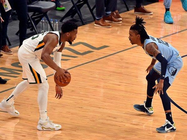 Utah Jazz sukses benamkan Memphis Grizzlies di game 4.