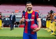Sergio Aguero Beri Indikasi Lionel Messi Bertahan di Barcelona
