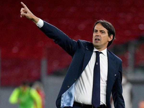 Manajer Lazio, Simone Inzaghi.