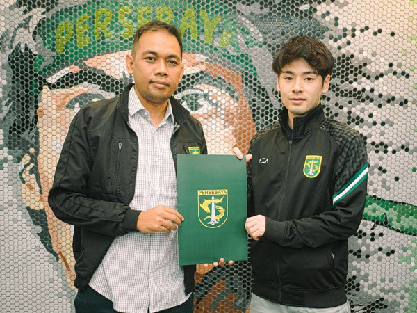 Taisei Marukawa resmi jadi pemain asing anyar Persebaya Surabaya