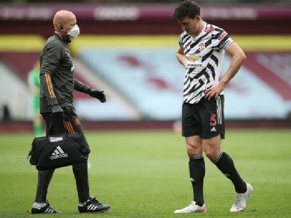Jelang Euro 2020, Harry Maguire bicara tentang cederanya