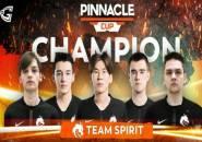 Jelang Tampil di Major, Team Spirit Raih Juara di Pinnacle Cup
