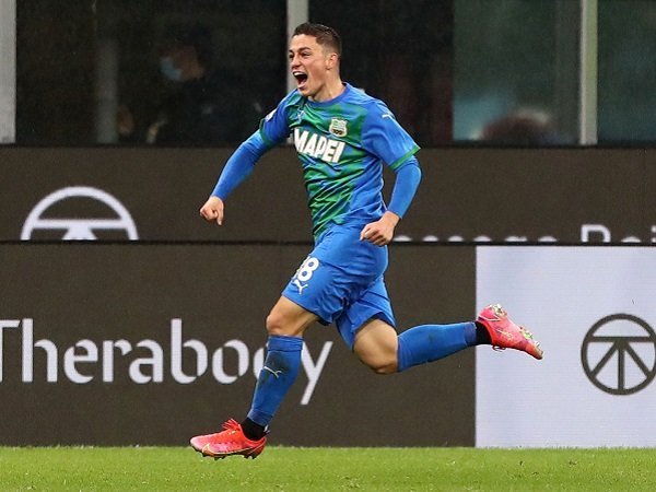 Giacomo Raspadori dapat panggilan dari Italia ke Piala Eropa 2020.
