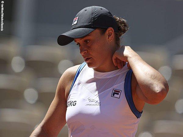 Cedera membuat Ashleigh Barty tak mampu ulangi pencapaian di French Open 2019