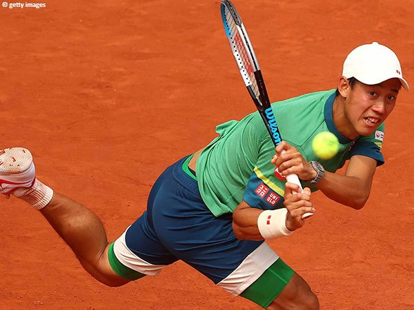 Kei Nishikori lolos ke babak ketiga French Open 2021
