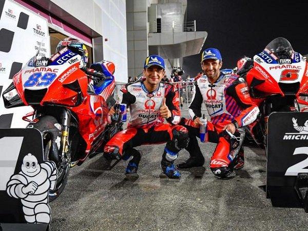 Pramac Racing pertahankan dua pebalap Johann Zarco dan Jorge Martin.