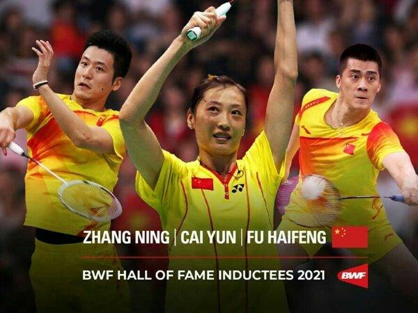 Tiga Legenda China Dianugerahi BWF Hall of Fame