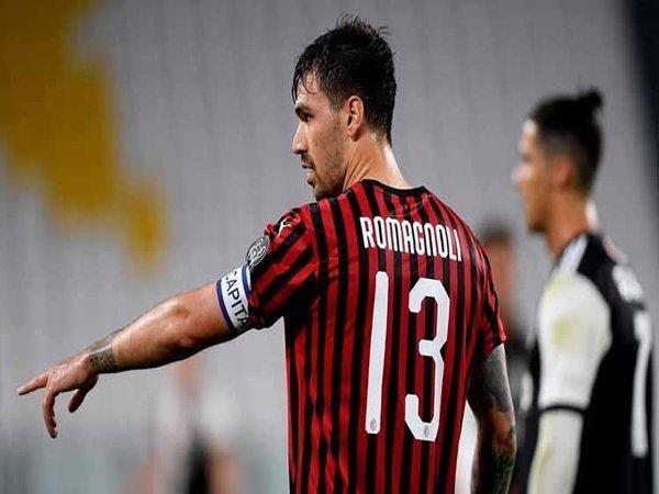 AC Milan disarankan untuk melepas Alessio Romagnoli pada bursa transfer musim panas tahun ini / via EPA