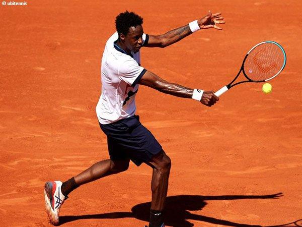 Untuk kali kedua secara beruntun, Gael Monfils gagal kantongi kemenangan beruntun di French Open