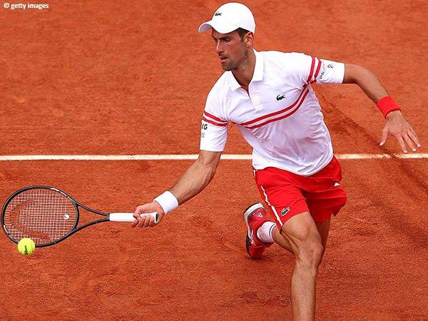 Novak Djokovic meluncur ke babak ketiga French Open 2021
