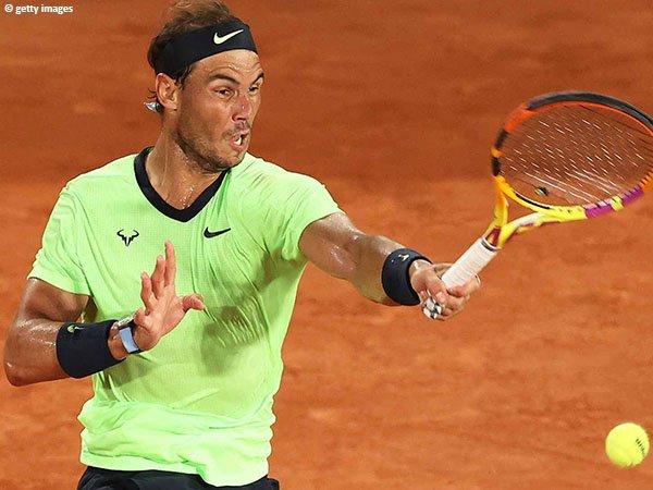Rafael Nadal kembali ke babak ketiga French Open 2021