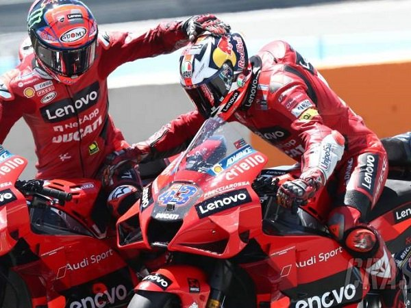 Ducati, Jack Miller, Francesco Bagnaia