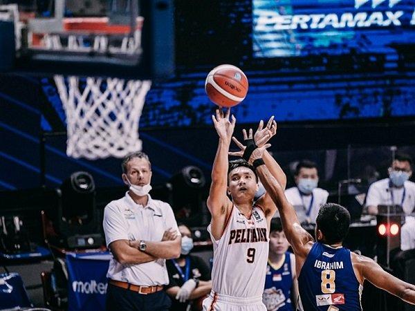 Pemain andalan Pelita Jaya Bakrie Jakarta, Agassi Goantara. (Images: IBL)