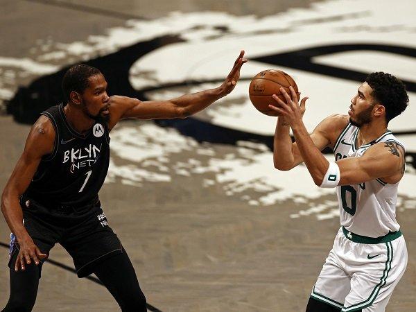 Jayson Tatum tuai pujian dari sosok Kevin Durant.