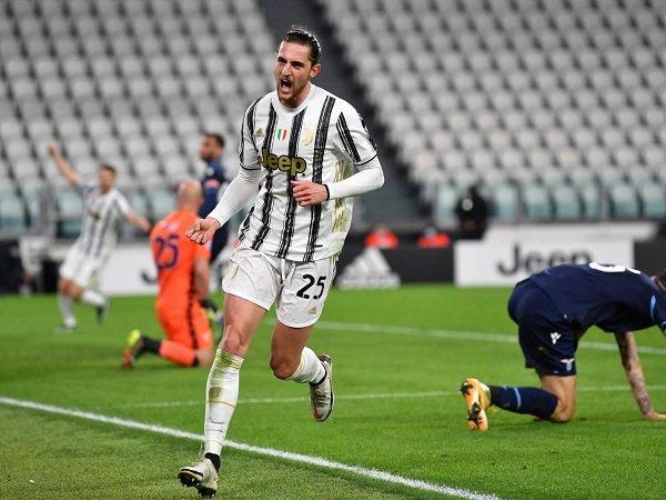 Adrien Rabiot puas dengan perkembangannya di Juventus.