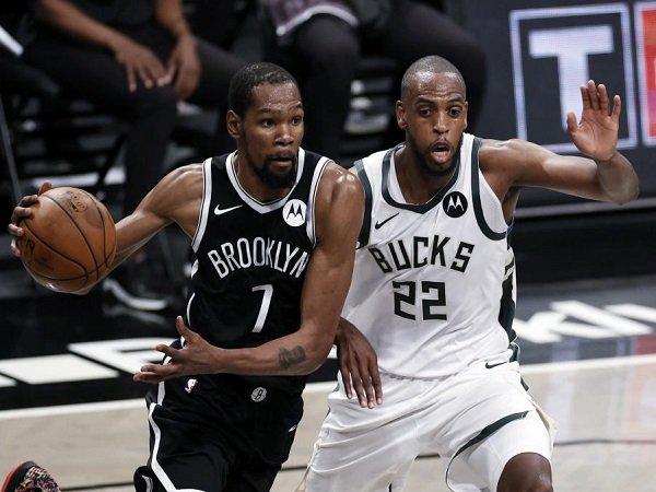 Milwaukee Bucks dipaksa menyerah oleh Brooklyn Nets di game 1.