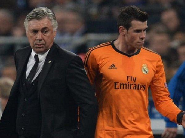 Gareth Bale saat bersama Carlo Ancelott. (Images: Getty)