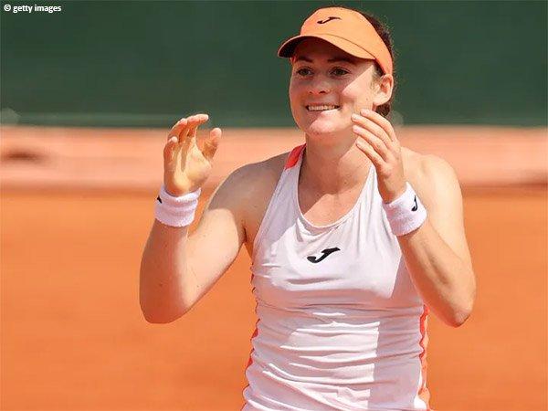 Tamara Zidansek melaju ke perempatfinal French Open 2021