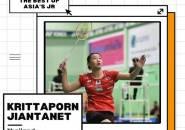 Krittaporn Jiantanet, Salah Satu Talenta Tunggal Putri Asia Asal Thailand