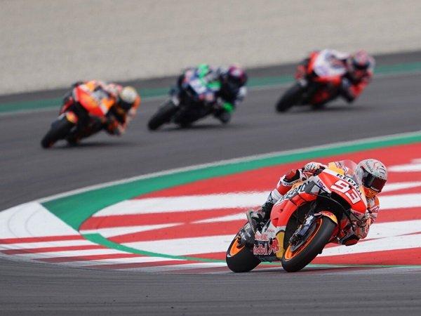 Marc Marquez berharap bisa naik podium lagi musim ini.