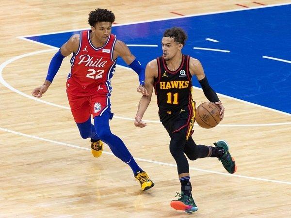 Philadelphia 76ers bertekuk lutut dari Atlanta Hawks di game pertama.