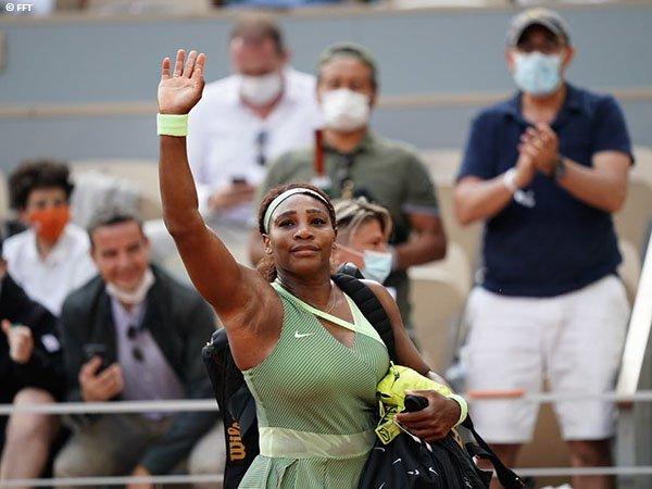 Usaha Serena Williams untuk kantongi gelar Grand Slam ke-24 berakhir di tengah jalan
