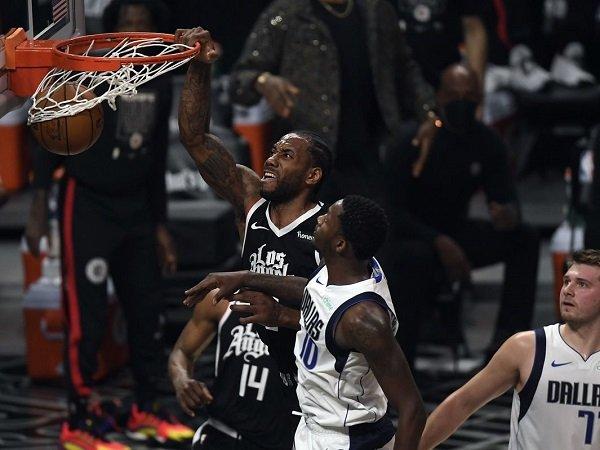 Los Angeles Clippers menangi game tujuh kontra Dallas Mavericks.